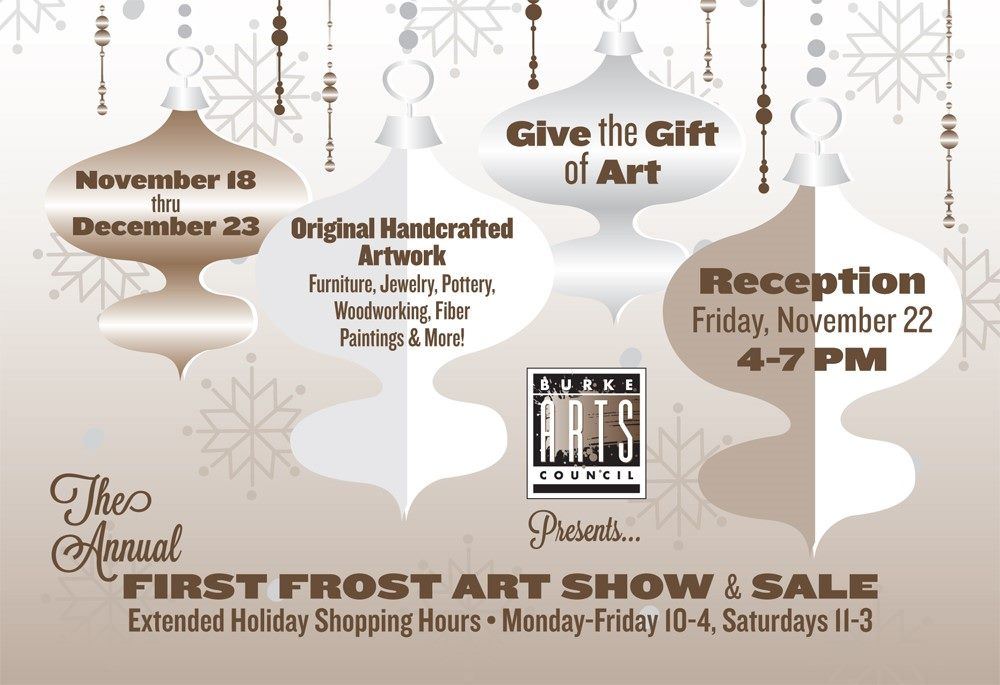 First Frost Holiday Sale